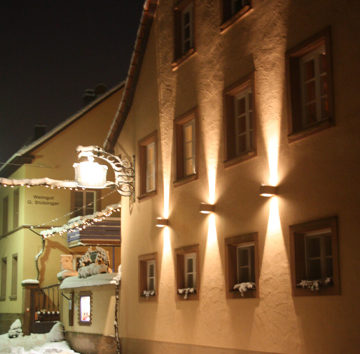Weingut im Winter